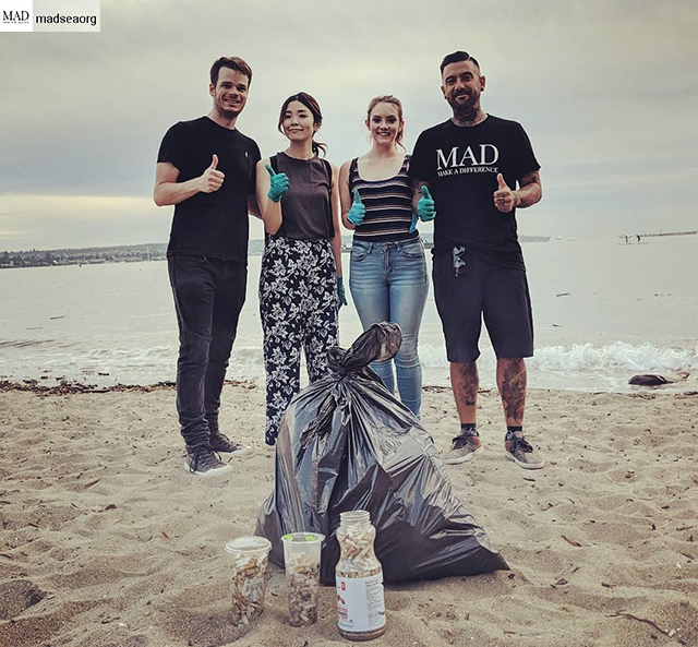 MAD SEA - Beach Clean - Aug 1 2019
