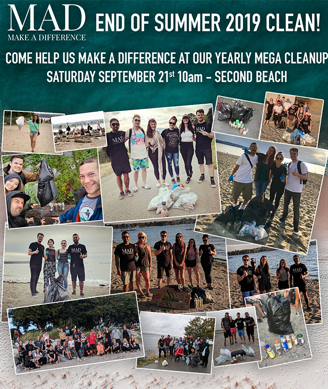 MAD SEA - Beach Clean - Sept 20 2019