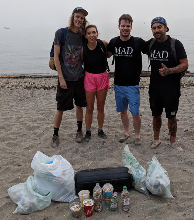MAD SEA - Beach Clean - August 22 2018