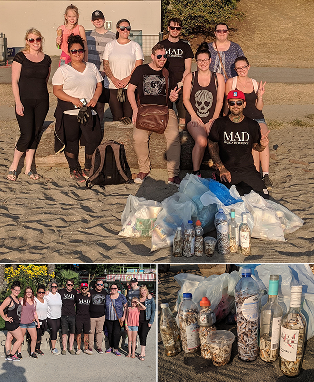 MAD SEA - Beach Clean - August 2 2018