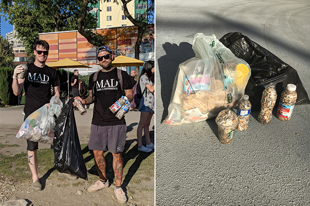 MAD SEA - Beach Clean - July 12 2018
