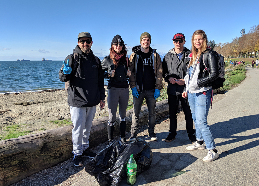 MAD SEA - Beach Clean - November 10 2018